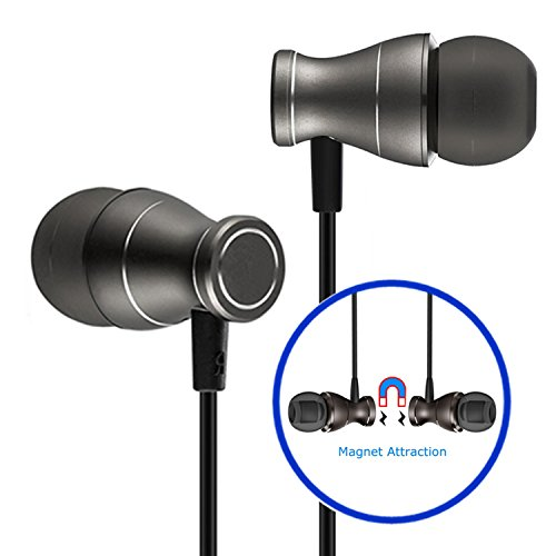 CHSMONB Wired Headphones(Earphones/Earbuds), In-Ear Headphones Wired Bass Stereo Sports Headphones with Snug and Soft Design, Inline Controls for Hands-free Calling and MP3 Players