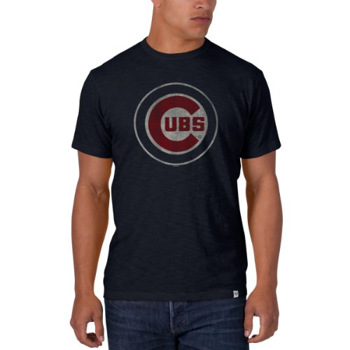 mlb-chicago-cubs-mens-scrum-basic-tee-x-large-fall-navy