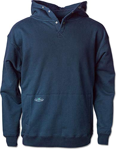 Arborwear Men's 400240 Double Thick Pullover Sweatshirt, Navy, Large (Im Skinny And Have A Double Chin)