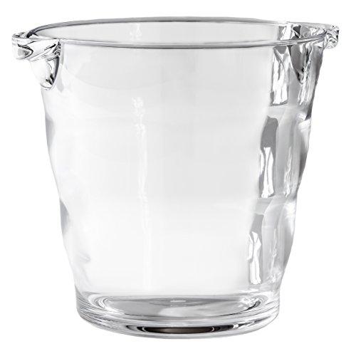 Acrylic Ice Bucket (Happy Hour Acrylic Wine Bucket, Clear)
