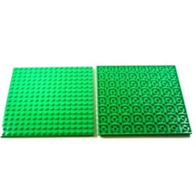 "2 pieces LEGO "" plate 16x16 studs \"" in Light Green: Toys & Games [5Bkhe0905661]"