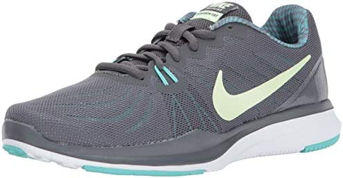 Nike Women s in-Season Trainer 7 Cross, Dark Grey Barely Volt – Aurora Green, 7.0 Regular US