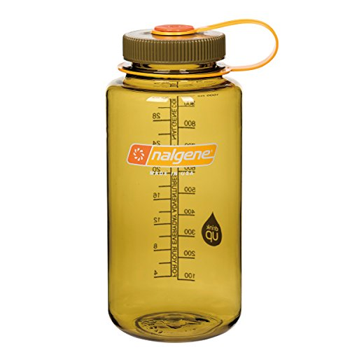 32 Ounce Quart Bottle - Nalgene WM 1 QT Olive Bottle, 32 oz