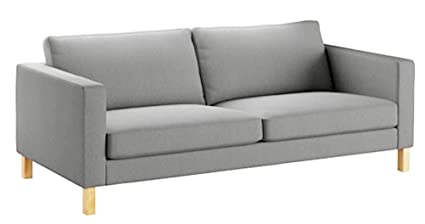 Captivating The Heavy Cotton Karlstad 3 Seater Sofa Cover (Sofa Width: 205CM)  Replacement Is