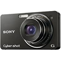 Sony Cyber-shot DSC-WX1/B 10MP Exmor R CMOS Digital Camera with 5x Optical Steady Shot Stabilized Zoom and 2.7-inch LCD (Black)