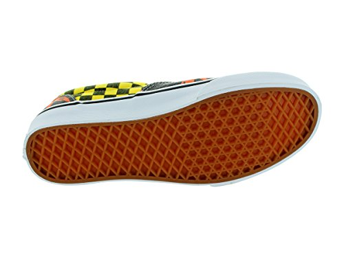 Vans Era - Zapatillas de skate unisex van doren orange palm/yellow checker