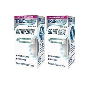 TRUEtrack Blood Glucose Test Strips(100 Count) from TRUEtrack