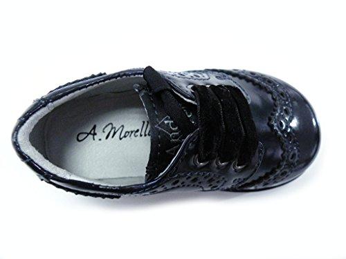 Andrea Morelli Zapato inglés pintura negro hembra negro negro