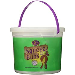 Squeezy Buns Treats For Horses, Approx 65pc - 3lb Tub