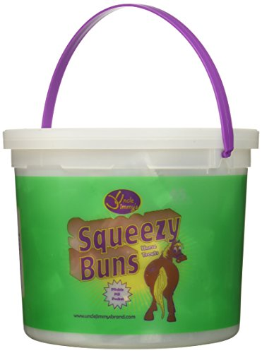 (Squeezy Buns Treats for Horses, Approx 65pc - 3lb Tub)