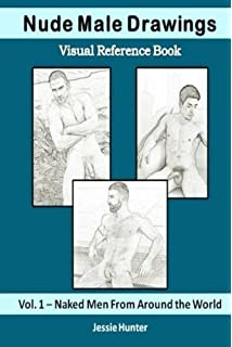 nude male drawings visual reference book naked men from around the world - Nude Coloring Book