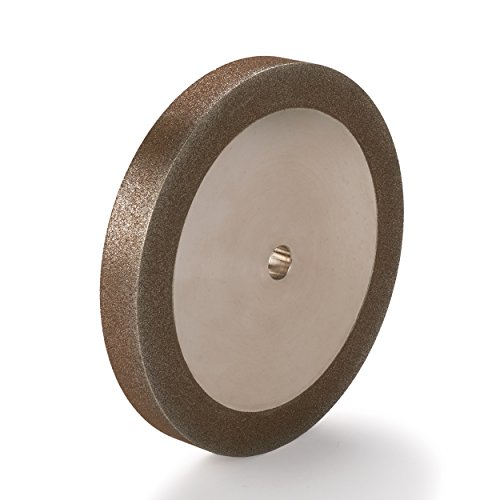 """WoodRiver 120-Grit CBN Grinding Wheel, 6""""x 3/4"""" for Grinders with a 1/2"""" Arbor"""