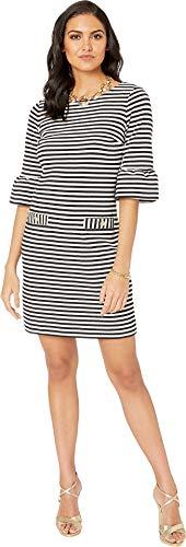 - Lilly Pulitzer Women's Alden Dress Coconut Ottoman Stripe X-Large