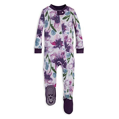 Burt's Bees Baby Baby Girls Pajamas, Zip Front