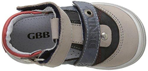 GBB Pepino - Primeros Pasos de Otra Piel Bebé-Niñas Bleu (Vte Gris-Jeans Dpf/Snow)
