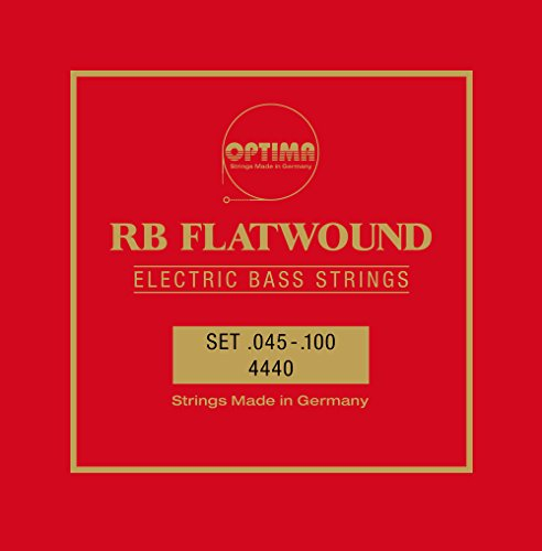 Optima 4440L RB FLATWOUND Bass Strings, Long Scale