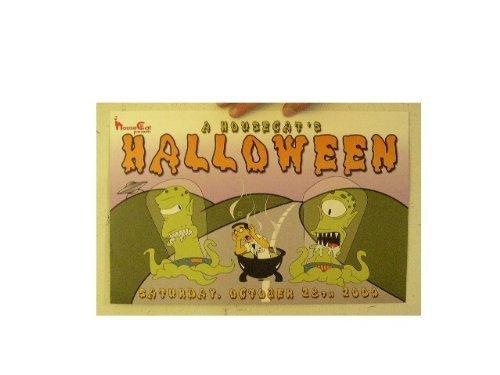 The Simpsons Poster Halloween Simpson's Aliens Frank (Simpsons Halloween Aliens)