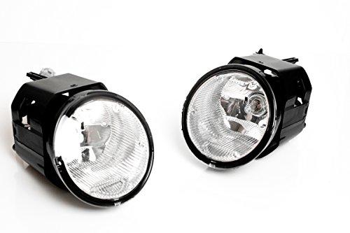 Nissan Armada Diamond (2004-2006 Nissan Titan/Armada OEM Fog Light Set replacement Crystal diamond)
