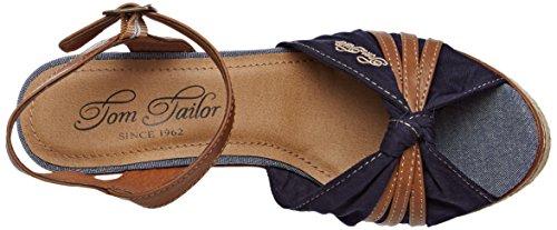 Tom Tailor 2790801 - Tira de tobillo Mujer azul (navy)
