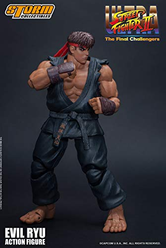 Storm Collectibles Evil Ryu: Ultra Street Fighter II The Final Challengers Action Figure (87062)