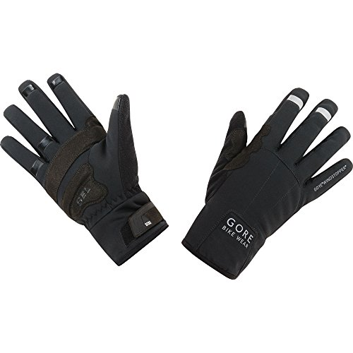 GORE BIKE WEAR Unisex Thermal Cycling Gloves, GORE WINDSTOPPER, UNIVERSAL Thermo Gloves, Size: 8, Black, GWUNIT (Gore Windstopper)
