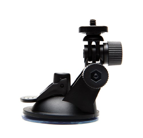 (ECOXGEAR GDI-EGSCM Suction Cup Mount for Bluetooth Speakers, Dash Cams and Action Cameras Standard Duty)