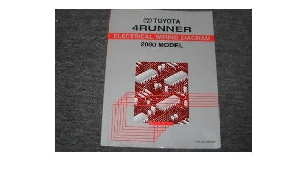 2000 Toyota 4runner Wiring Diagram | Wiring Schematic Diagram on