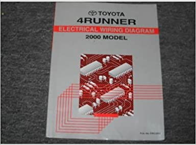 2000 toyota 4runner electrical wiring service manual: toyota: amazon com:  books