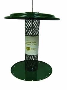 Birds Choice 1-1/4 qt. Magnet Mesh Safflower Feeder-Green