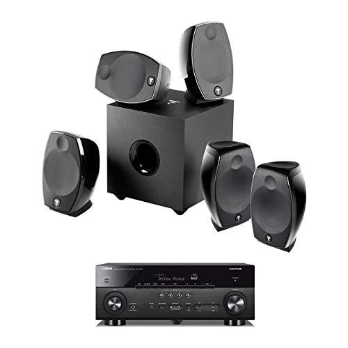 Focal SIB Evo 5.1.2 Home Cinema System with Yamaha RX-A780 AV 7.2-Channel Receiver
