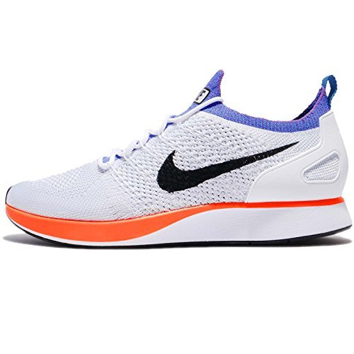 f73c5fe8df43 Galleon - NIKE Air Zoom Mariah Flyknit Racer Men s Running Shoes White Hyper  Crimson 918264-100 (13 D(M) US)