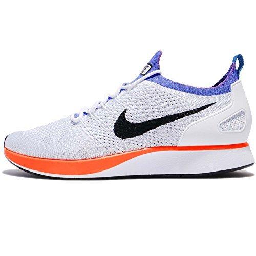11035eacb5b94 Galleon - NIKE Air Zoom Mariah Flyknit Racer Men s Running Shoes  White Hyper Crimson 918264-100 (13 D(M) US)