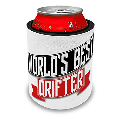 NEONBLOND Worlds Best Drifter Slap Can Cooler Insulator Sleeve