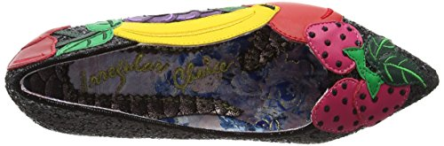 Irregular Choice Women's Banana Boat Closed-Toe Heels Black (Black) iKPHd2i3Ml