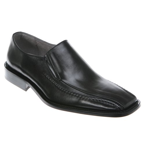 Stacy Adams Mænds Hillman Slip-on Sort Bøffel vah4RZDrMk