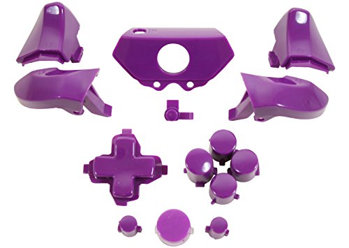 ModFreakz™ Full Button Set w/o Thumbsticks Polished Purple For Xbox One Model 1537 Controllers