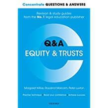 Concentrate Questions and Answers Equity and Trusts: Law Q&A Revision and Study Guide (Concentrate Law Questions & Answers)