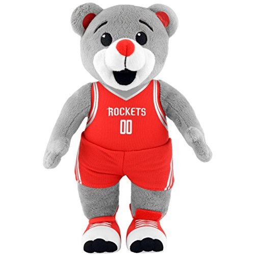 Bleacher Creatures NBA Houston Rockets NBA 10-Inch Plush Figure, Red by Bleacher Creatures