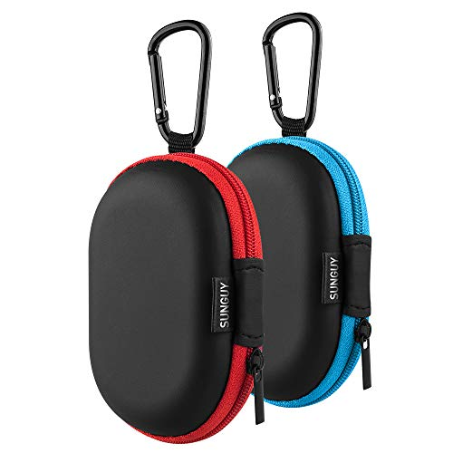 Earbuds Carrying Case Sunguy【2Pack