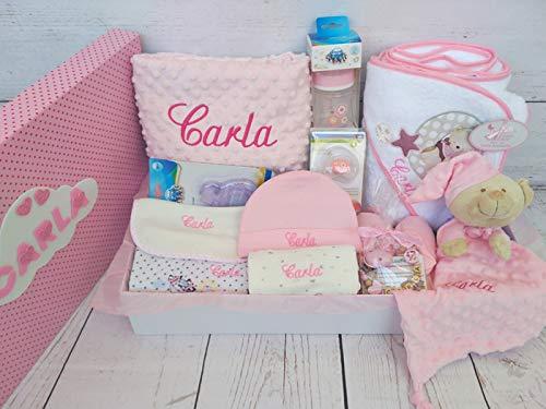 Set Regalo Bebé - Canastillas personalizada para niño o niña, el ...