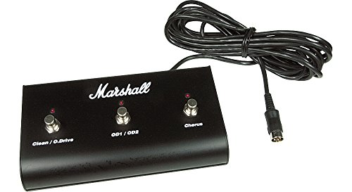 Marshall PED803 3-Way Footswitch with LEDs by Marshall