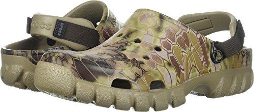 Crocs Offroad Sport Kryptek Highlander Clog, Khaki, 14 US Women / 12 US Men