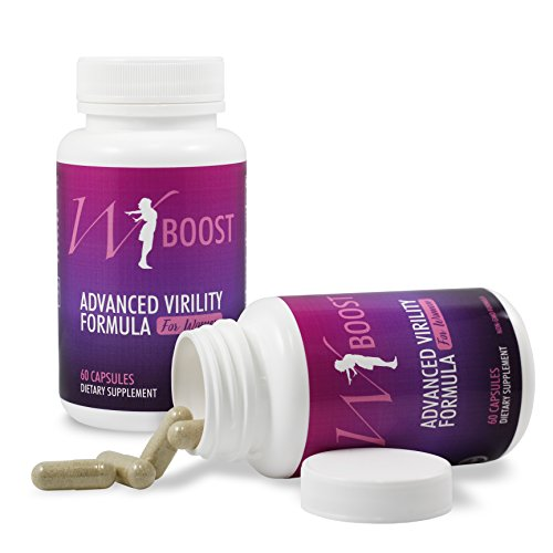 Female Libido Enhancer - W-Boost USA Non GMO Formulation for Women - Horny Goat Weed w/L-Arginine & Maca Root - Support Blood Flow Booster - Overall Well Being 60 Tabs (1 Bottle)
