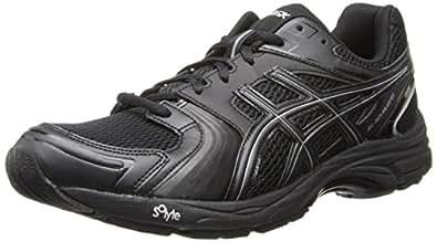 Asics Men's Gel-Tech Walker Neo 4 Walking Shoe,Black/Black/Silver,7 M US
