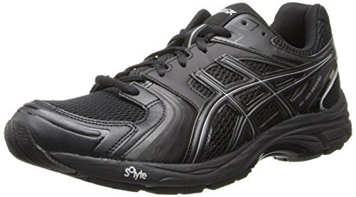 Asics Men's Gel-Tech Walker Neo 4 Walking Shoe,Black/Black/Silver,7 M US
