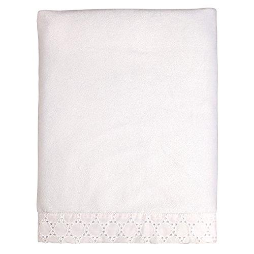 Carter's Lily Velboa Blanket, (Eyelet Baby Blanket)