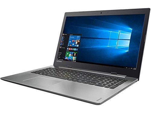 """Lenovo Premium 15.6"""" 320 Series Business Laptop, AMD A12-9720P Quad-COre 2.7 Ghz, 256GB SSD, 8GB DDR4, DVD, Wireless-AC, Bluetooth, HDMI, USB C, Ethernet, Card Reader, Stereo Speakers, Windows 10"""
