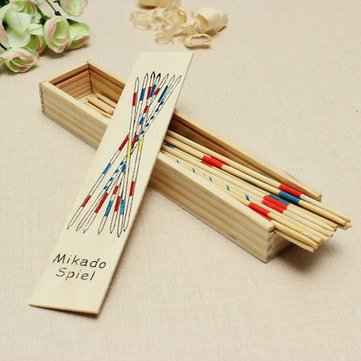 Board Game Toys - Mikado Spiel Game Sticks Wooden Toys Adult Children Intelligence Multilayer Toy - Mikado Spiel Game Activity - 1PCs