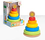 Early Learning Centre Wooden Stacking Rings, Amazon Exclusive, Multi-Color