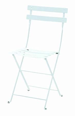 Bistro Metal Chaise Pliante